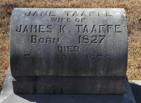 TAAFFE, JANE - Little River County, Arkansas   JANE TAAFFE - Arkansas Gravestone Photos