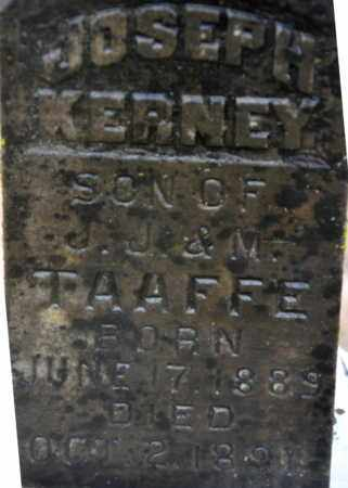 TAAFFE, JOSEPH KERNEY (CLOSEUP) - Little River County, Arkansas | JOSEPH KERNEY (CLOSEUP) TAAFFE - Arkansas Gravestone Photos