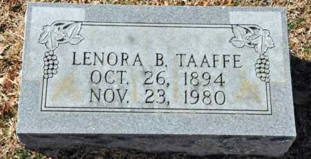 TAAFFE, LENORA B - Little River County, Arkansas | LENORA B TAAFFE - Arkansas Gravestone Photos