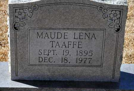TAAFFE, MAUDE LENA - Little River County, Arkansas | MAUDE LENA TAAFFE - Arkansas Gravestone Photos