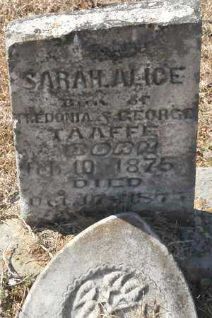 TAAFFE, SARAH ALICE - Little River County, Arkansas | SARAH ALICE TAAFFE - Arkansas Gravestone Photos