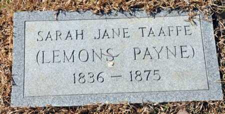 LEMONS, SARAH JANE - Little River County, Arkansas | SARAH JANE LEMONS - Arkansas Gravestone Photos