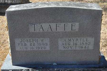 TAAFFE, JOSEPH W - Little River County, Arkansas   JOSEPH W TAAFFE - Arkansas Gravestone Photos