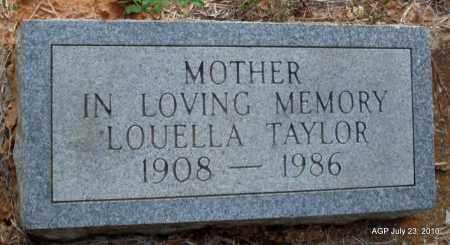 TAYLOR, LOUELLA - Little River County, Arkansas | LOUELLA TAYLOR - Arkansas Gravestone Photos