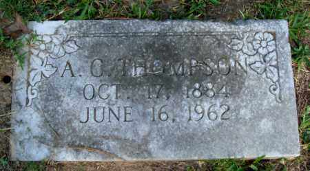 THOMPSON, A C - Little River County, Arkansas | A C THOMPSON - Arkansas Gravestone Photos