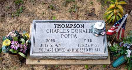 THOMPSON, CHARLES DONALD - Little River County, Arkansas | CHARLES DONALD THOMPSON - Arkansas Gravestone Photos