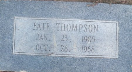 THOMPSON, FATE - Little River County, Arkansas | FATE THOMPSON - Arkansas Gravestone Photos