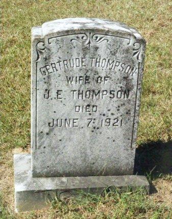 THOMPSON, GERTRUDE - Little River County, Arkansas | GERTRUDE THOMPSON - Arkansas Gravestone Photos
