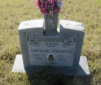 THOMPSON, GERTRUDE - Little River County, Arkansas   GERTRUDE THOMPSON - Arkansas Gravestone Photos