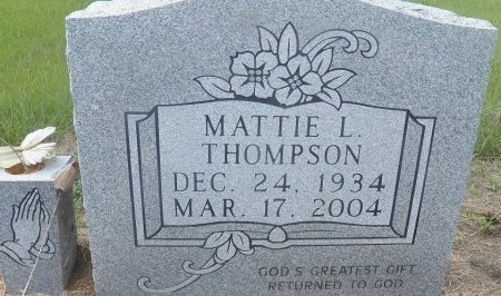 THOMPSON, MATTIE L. - Little River County, Arkansas | MATTIE L. THOMPSON - Arkansas Gravestone Photos