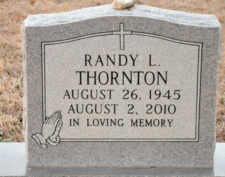 THORNTON, RANDY L - Little River County, Arkansas | RANDY L THORNTON - Arkansas Gravestone Photos