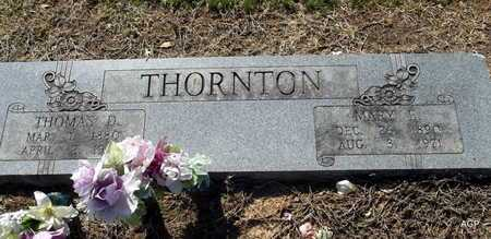 THORNTON, MARY E - Little River County, Arkansas | MARY E THORNTON - Arkansas Gravestone Photos