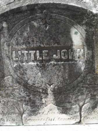 UNKNOWN, LITTLE JOHN - Little River County, Arkansas | LITTLE JOHN UNKNOWN - Arkansas Gravestone Photos