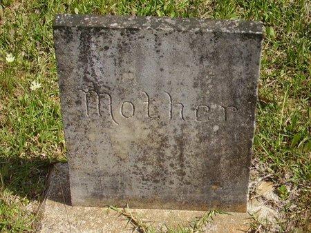 UNKNOWN, MOTHER - Little River County, Arkansas   MOTHER UNKNOWN - Arkansas Gravestone Photos