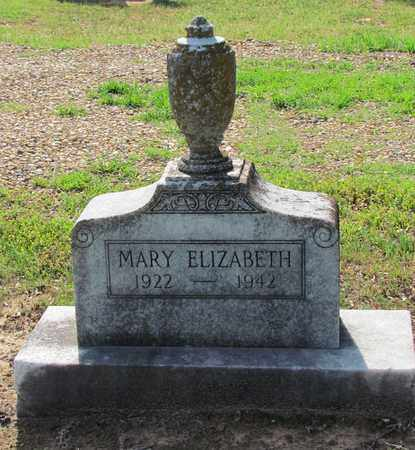 UNKNOWN, MARY ELIZABETH - Little River County, Arkansas | MARY ELIZABETH UNKNOWN - Arkansas Gravestone Photos