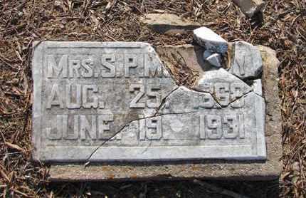 UNKNOWN, S P, MRS - Little River County, Arkansas | S P, MRS UNKNOWN - Arkansas Gravestone Photos
