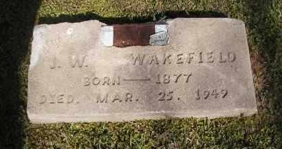 WAKEFIELD, J W - Little River County, Arkansas | J W WAKEFIELD - Arkansas Gravestone Photos