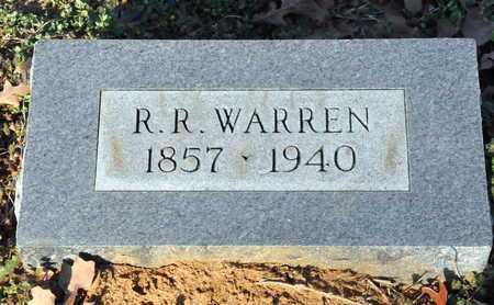 WARREN, R R - Little River County, Arkansas | R R WARREN - Arkansas Gravestone Photos