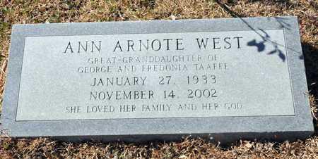 WEST, ANN - Little River County, Arkansas | ANN WEST - Arkansas Gravestone Photos