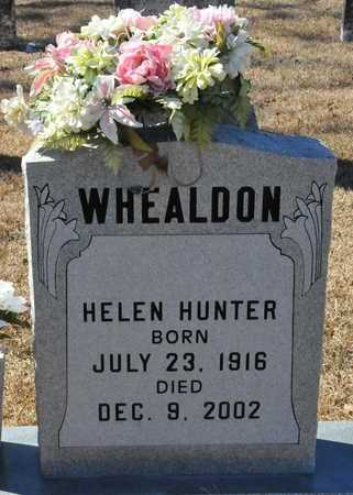 HUNTER WHEALDON, HELEN - Little River County, Arkansas | HELEN HUNTER WHEALDON - Arkansas Gravestone Photos