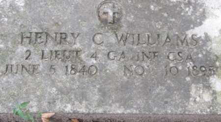 WILLIAMS (VETERAN CSA), WILLIAM C - Little River County, Arkansas | WILLIAM C WILLIAMS (VETERAN CSA) - Arkansas Gravestone Photos