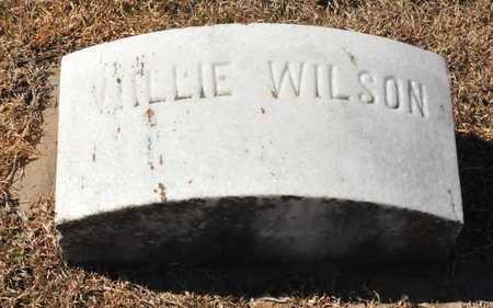WILSON, WILLIE - Little River County, Arkansas | WILLIE WILSON - Arkansas Gravestone Photos