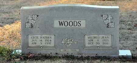 WOODS, CECIL HADDEN - Little River County, Arkansas | CECIL HADDEN WOODS - Arkansas Gravestone Photos