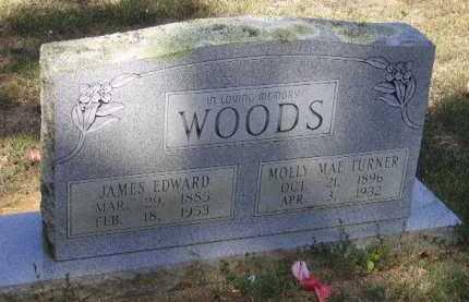 WOODS, JAMES EDWARD - Little River County, Arkansas | JAMES EDWARD WOODS - Arkansas Gravestone Photos