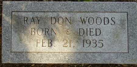 WOODS, RAY DON - Little River County, Arkansas | RAY DON WOODS - Arkansas Gravestone Photos