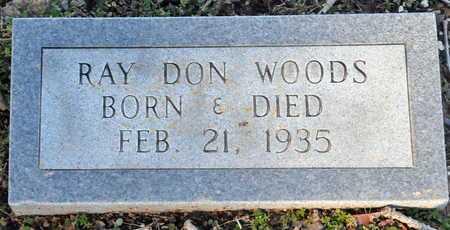 WOODS, RAY DON - Little River County, Arkansas | RAY DON WOODS - Arkansas Gravestone Photos