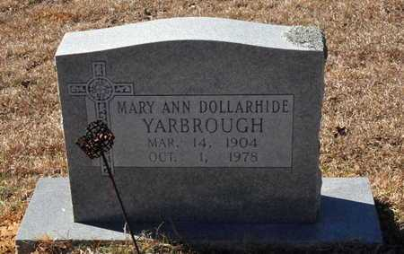 DOLLARHIDE YARBROUGH, MARY ANN - Little River County, Arkansas | MARY ANN DOLLARHIDE YARBROUGH - Arkansas Gravestone Photos