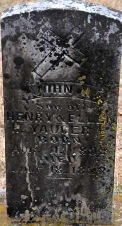 YAUGER, JOHN - Little River County, Arkansas | JOHN YAUGER - Arkansas Gravestone Photos