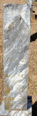 YAUGER, LILLIANA - Little River County, Arkansas   LILLIANA YAUGER - Arkansas Gravestone Photos