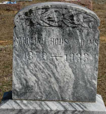 ADAMS, CAROLINE - Logan County, Arkansas | CAROLINE ADAMS - Arkansas Gravestone Photos