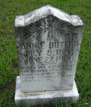 BUTLER, ANNIE - Logan County, Arkansas | ANNIE BUTLER - Arkansas Gravestone Photos