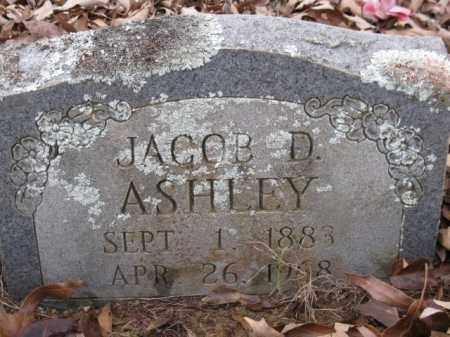 ASHLEY, JACOB D - Logan County, Arkansas | JACOB D ASHLEY - Arkansas Gravestone Photos