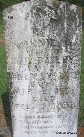 BAILEY, MINNIE H. - Logan County, Arkansas | MINNIE H. BAILEY - Arkansas Gravestone Photos
