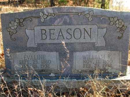 BEASON, WILLIAM R - Logan County, Arkansas | WILLIAM R BEASON - Arkansas Gravestone Photos