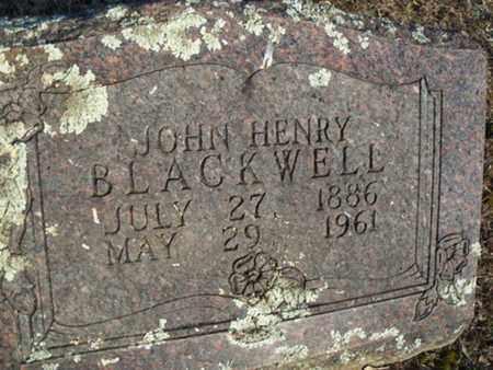 BLACKWELL, JOHN HENRY - Logan County, Arkansas   JOHN HENRY BLACKWELL - Arkansas Gravestone Photos