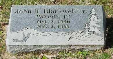 "BLACKWEL, JR, JOHN H ""WEED'S T"" - Logan County, Arkansas | JOHN H ""WEED'S T"" BLACKWEL, JR - Arkansas Gravestone Photos"