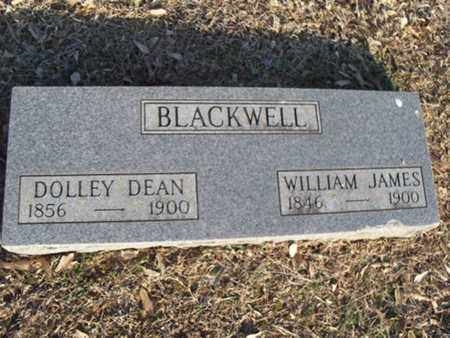 BLACKWELL, WILLIAM JAMES - Logan County, Arkansas | WILLIAM JAMES BLACKWELL - Arkansas Gravestone Photos