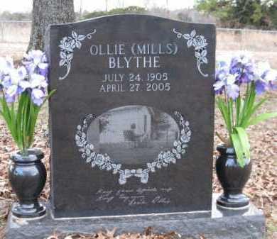 BLYTHE, OLLIE - Logan County, Arkansas | OLLIE BLYTHE - Arkansas Gravestone Photos