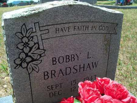 BRADSHAW, BOBBY L - Logan County, Arkansas | BOBBY L BRADSHAW - Arkansas Gravestone Photos