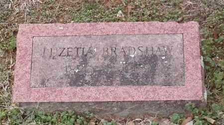 BRADSHAW, LUZETIA - Logan County, Arkansas | LUZETIA BRADSHAW - Arkansas Gravestone Photos