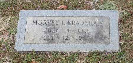 BRADSHAW, MURVEY L - Logan County, Arkansas | MURVEY L BRADSHAW - Arkansas Gravestone Photos