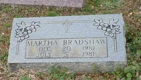 BRADSHAW, MARTHA - Logan County, Arkansas | MARTHA BRADSHAW - Arkansas Gravestone Photos