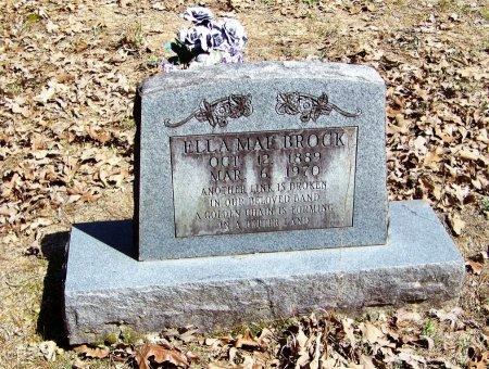BROCK, ELLA MAE  - Logan County, Arkansas | ELLA MAE  BROCK - Arkansas Gravestone Photos