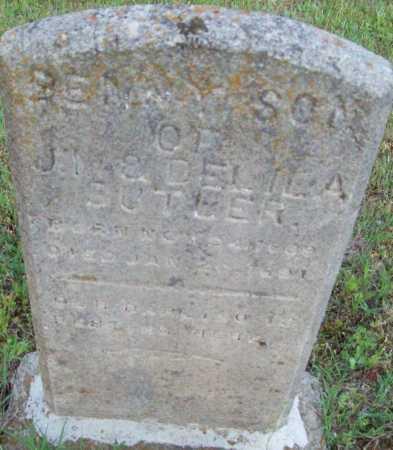 BUTLER, BENNY - Logan County, Arkansas   BENNY BUTLER - Arkansas Gravestone Photos