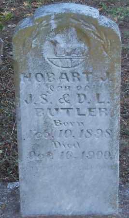 BUTLER, HOBART J - Logan County, Arkansas | HOBART J BUTLER - Arkansas Gravestone Photos