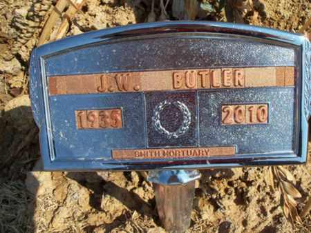BUTLER, J W - Logan County, Arkansas | J W BUTLER - Arkansas Gravestone Photos